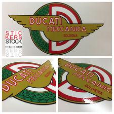 Stickers Adesivi Ducati Meccanica Bologna introvabili Serbatoio