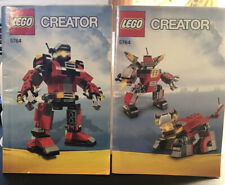 Lego CREATOR Rescue Robot 5764. Complete Retired. Instructions