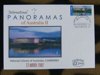 SCARCE ALPHA FIRST DAY COVER - 2002 AUSTRALIAN PANORAMAS II. NATIONAL LIBRARY