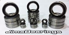 TLR SCTE 2.0 rubber sealed bearing kit  (22 pcs) Jims Bearings team losi racing