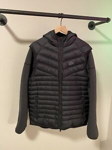 Nike Tech Fleece Aeroloft Windrunner Men's Large Reversible Black