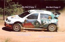 Colin McRae Skoda Fabia WRC Rally Australia 2005 Photograph 4