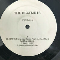 The Beatnuts Se Acabo (Translated Remix) Vinyl Record Original 1999  Hip Hop Rap