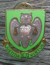 US Army Military Police School DUI DI Crest Badge Pin
