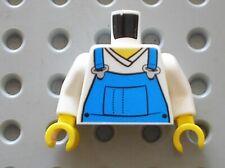LEGO Torso Overalls Blue Zippered Ref 973pb0649 / Set 7939 4432 3221 60098 4204