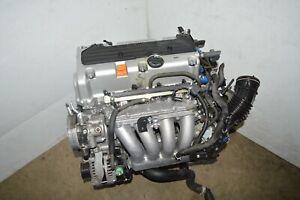 JDM K24A MOTOR 03 04 05 06 07 HONDA ACCORD ELEMENT K24A 2.4L I-VTEC ENGINE MOTOR