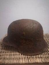 Stahlhelm  bodenfund Ardennen wiking