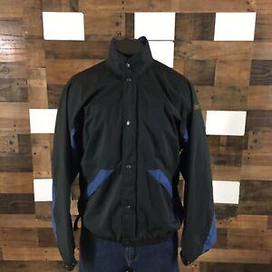 Footjoy Dryjoys Golf Windbreaker Jacket Mesh Lined Full Zip Snap Up Mens Medium