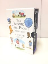 The Winnie The Pooh Collection A.A. Milne - 4 Books Illustrated - Hardback - VGC