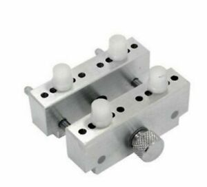 JumboAluminium Vice/Case Holder with 4 Pins Watch and jewellery makers Adjust