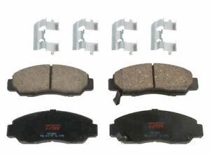 Front TRW Premium Ceramic Brake Pad Set fits Acura CSX 2006-2011 82BGDZ