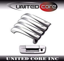 Dodge Ram 09 10 11 12 13 14 15 16 Chrome Door Handle Cover + Chrome Tailgate