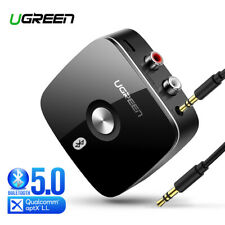 Ugreen Wireless Bluetooth Receiver V5.0 3.5mm Jack Cable Aux Audio Adapter New A
