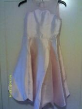 MONSOON .Girls Pale Pink' Shelley' Party Dress Size 10 years { 140cm )