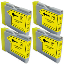 4 YELLOW Ink Cartridge for Brother LC51Y MFC 440CN 465CN 665CW 685CW 845CW