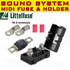 200A MIDI BOLT FUSE HOLDER TERMINALS KITS FOR DUAL BATTERY MEGA SOUND SYSTEM