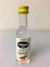 Mignon Miniature Roner Framboise Waldhimbeer Geist 3cl 40% Vol