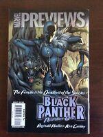 MARVEL PREVIEWS 64 1ST APP SHURI BLACK PANTHER predates #1, 2009 J SCOTT CAMPELL