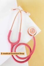 Pink with Rosegold  Dual  Head Stethoscope A Great alternative littmann MDF
