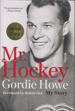 MR HOCKEY GORDIE HOWE Detroit Red Wings SIGNED Book MY STORY 1st Edition