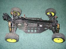 R/C MODEL  RACING BUGGY 1:10 SCALE  CHASSIS  SELLING FOR PARTS REPAIR
