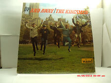 "THE KINGSMEN -(LP)- UP AND AWAY  - INCLUDES -  ""IF I NEEDED SOMEONE"" - WAND-1966"