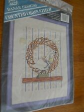 """The Goose Counted Cross Stitch Kit  by Banar Designs 8"""" x 10"""" Design--NEW"""