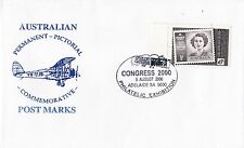 Permanent Commerative Pictorial Postmark - Adelaide 5 Aug 2000 - 45c
