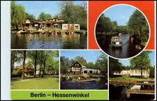 BERLIN Ost DDR Bootshaus Hessenwinkel Lindenstrasse