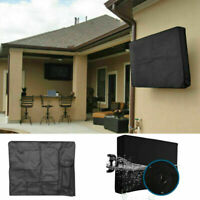 Outdoor Weatherproof Television Protector TV Cover For Flat Screens 22-60 inch