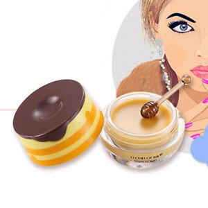 Honey Lip Sleeping Balm Mask Moisture Anti Aging Wrinkle Nourishing Collagen