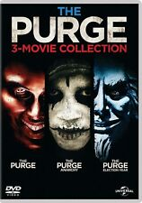 The Purge 3 Movie Collection (DVD) Frank Grillo, Ethan Hawke