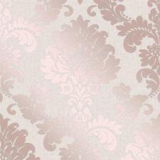 quarzo Carta da parati damascata oro rosa - Decorazione raffinata fd42204