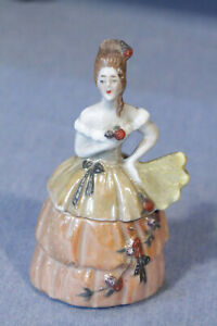 Antique Made in Germany, Lady Powder,Trinket Box, Nr.13386 Incesed for Argentina