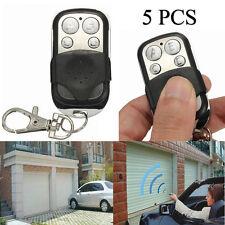 5PC Electric Gate Garage Door NEW Remote Control 270MHz~434MHZ Cloning Transmit
