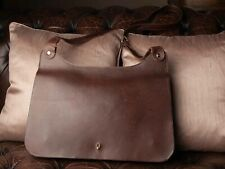 Bill Amberg Leather Messenger/Laptop Bag, Mens or Women's. Cool, Funky!