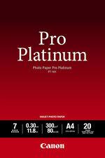 Carta CANON PT-101 Pro Platinum Carta Fotografica 300g/m² 20 FOGLI A4