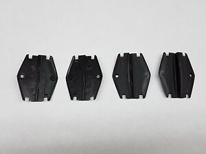 1982-90 Chevy S10 or Blazer and GMC S15 or Jimmy window guides clips set of four
