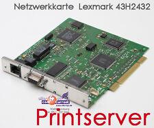 PRINTSERVER NETZWERK LEXMARK MARKNET 4059 N200/E TOKENRING COMBO 43H2432 APH09E