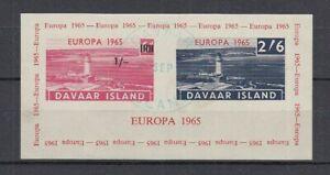 Cendrillon Davaar Island Europe 1965 Phare - Bloc Oo