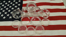 LOT OF 50 ~ 10 GRAM CLEAR CAP SIFTER JARS