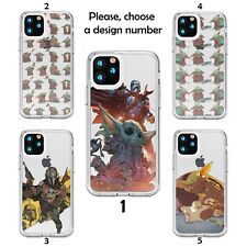 Baby Yoda Star Wars Case Galaxy s20 s10 S9 + plus Note 20 10 Ultra Silicone SN