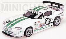 1 43 Minichamps Dodge Viper Gts-r #98 Daytona 1996