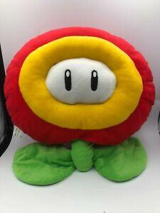 Official Banpresto Super Mario Bros Party Fire Flower Plush Stuffed Toy Nintendo