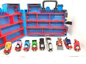 Thomas & Friends Take N Play Trains in STORAGE CASE Lot: ROSIE HARVEY MIGHTY MAC