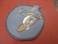 WWII USAAF BUGS BUNNY  530 TH BOMB SQDN 380 BG 5 AAF   FLIGHT JACKET PATCH