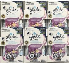 12 Glade Sense & Spray Automatic Freshener Refill LAVENDER & VANILLA 6 Twin Pack