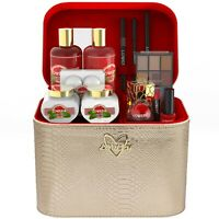 Mother's Day Premium Bath and Body Gift Basket For Women – Pink Grapefruit, 30pc