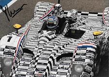 FELIPE ORTIZ firmato Dome-Judd S101, FIA sportscars DONINGTON PARK 2003