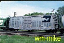 #B-261 - FREIGHT CARS BN Burlington Northern hybrid box car / LO Original slide